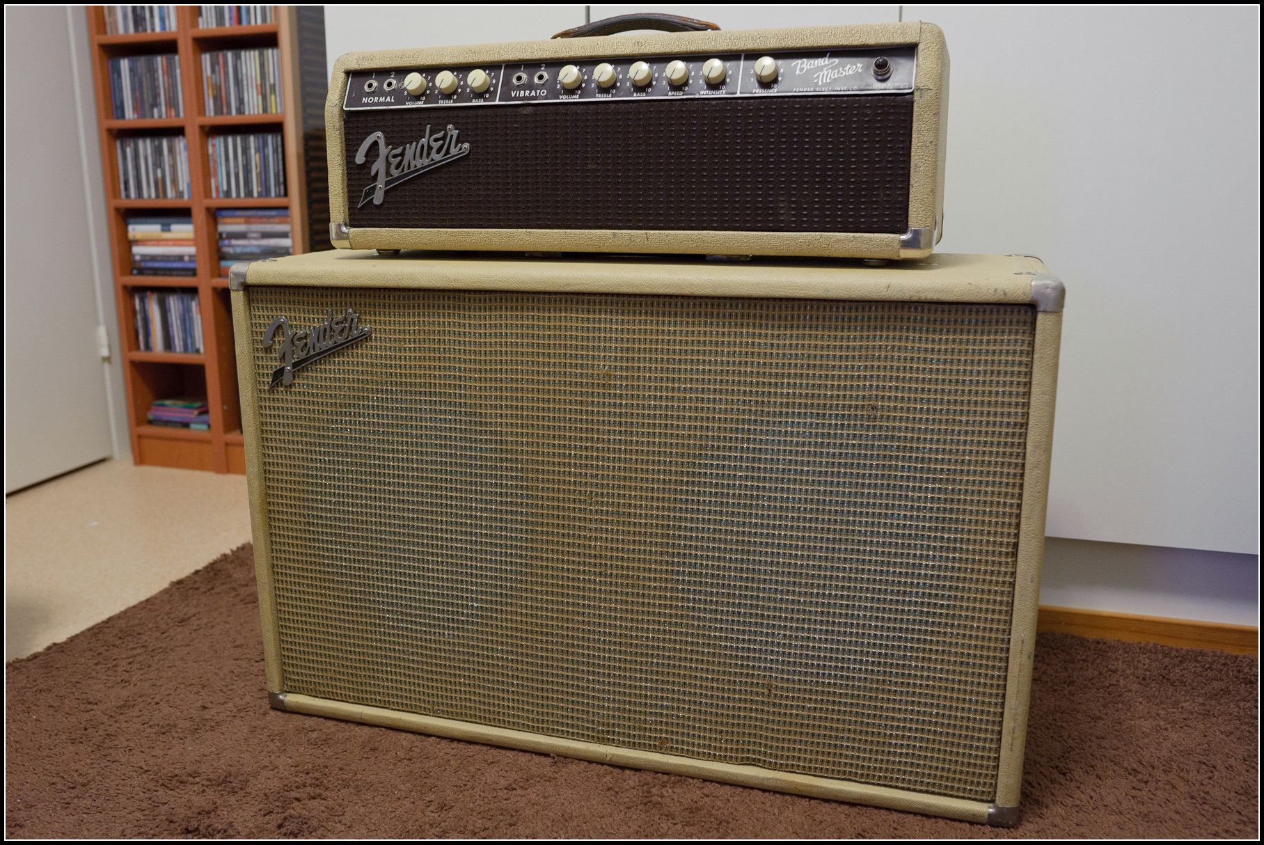 bandmaster comparison super with so terror guitar micro cab youtube laney fender cabinet bassman cub orange reverb sold