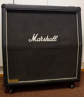 "Marshall 1982A JCM800 Lead Series 4x12"" Cabinet, 1983"