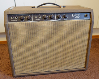 Fender Brownface Deluxe Amp, 1961
