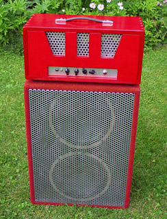 "Red 2x12""Cabinet"